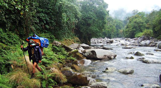 Himalaya Mountain trekking