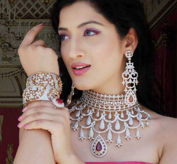 Bridal Collection Jewellery: Indian Jewellery And Clothing: Heavy Bridal Diamond
