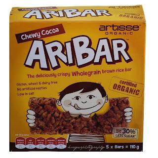 Gluten Free Chewy Cocoa Aribars