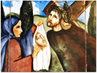 Via Sacra 06 'Verônica Limpa a Face de Jesus', na Capilla Hotel de Villavicencio