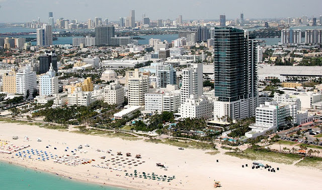 Mala para o inverno em Miami