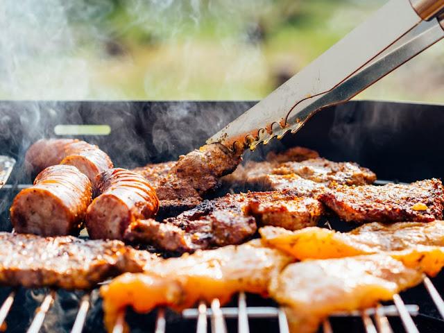 chicken, meat, sausage