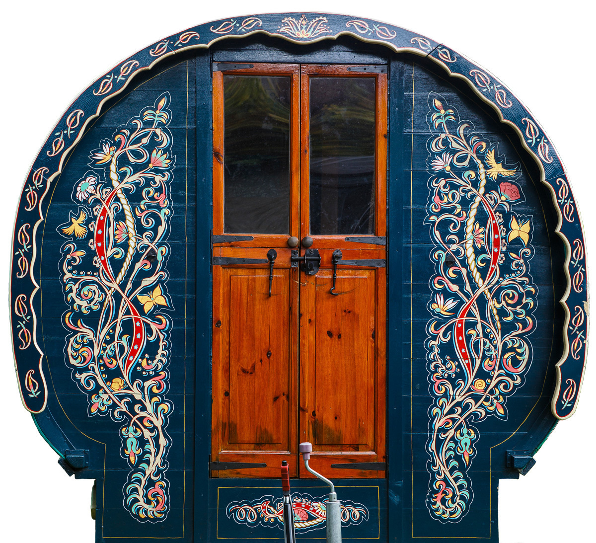 The painting job comes at an extra price, but these designs give it that special something. - These Gypsy Caravans Are All Your Hippy-Dreams Come True, Especially The Inside.