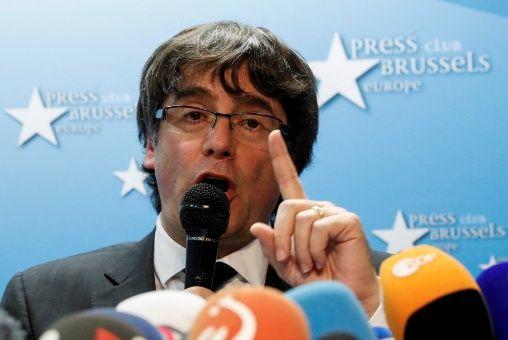 """Puigdemont anuncia la creación de una """"estructura estable"""" desde Bélgica"""