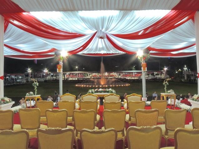 dekorasi panggung 17 agustus terbaru