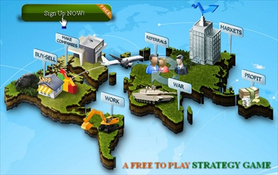 MarketGlory Strategy Game