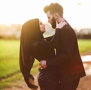 good morning muslim couple
