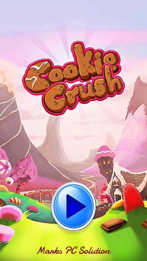 Cookie Crush Match 3 Welcome Screen