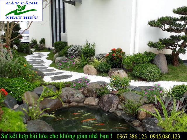 Thiết kế sân vườn nhỏ đẹp tại Hà Nội