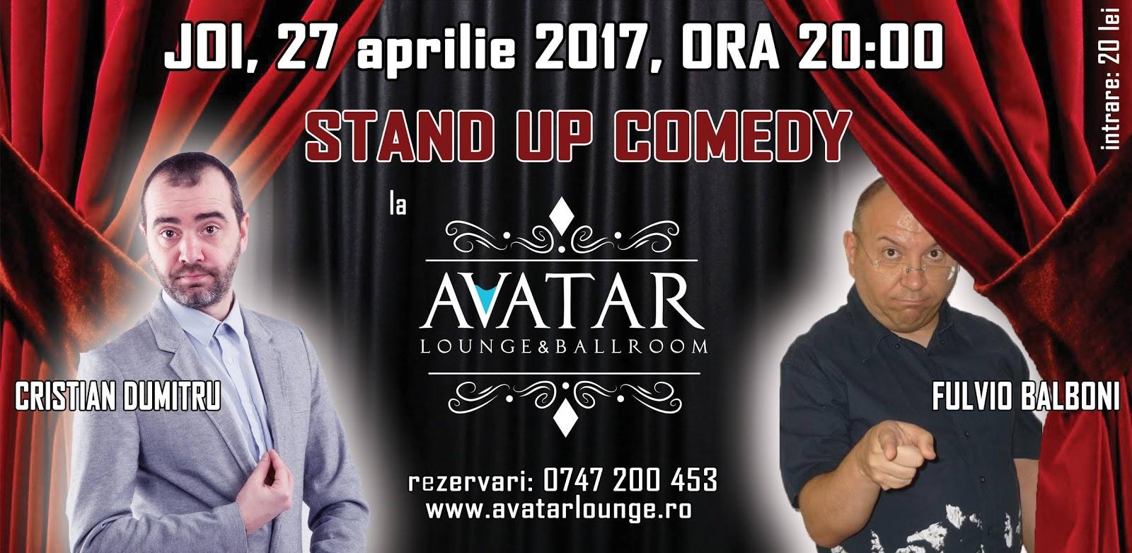 Stand-Up Comedy Joi 27 Aprilie Bragadiru