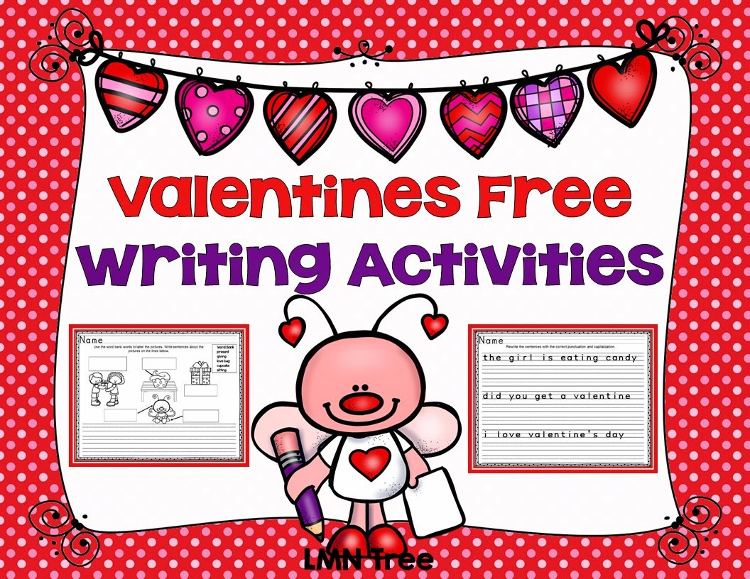 Lmn Tree Valentine S Day Free Reading And Writing Activities Books And Crafts