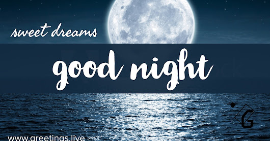 Sweet good night dream messages free download