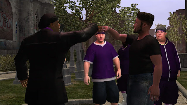 Saints Row Julius fist bump