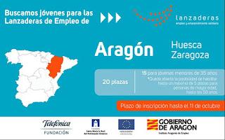 Lanzaderas empleo Aragón 2017