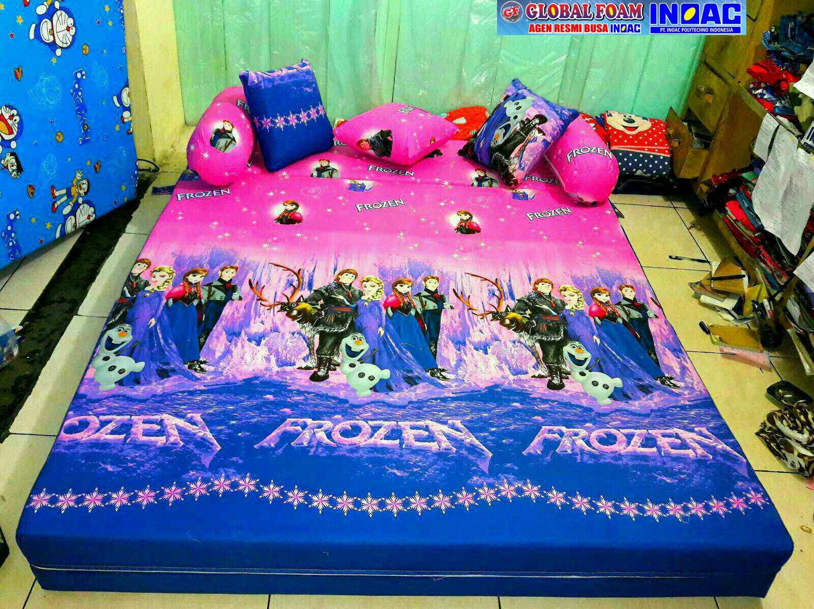 Harga Sofa Bed Inoac No 1 Cream Colored Leather Reviews Kasur 2018 Distributor Busa Asli Global