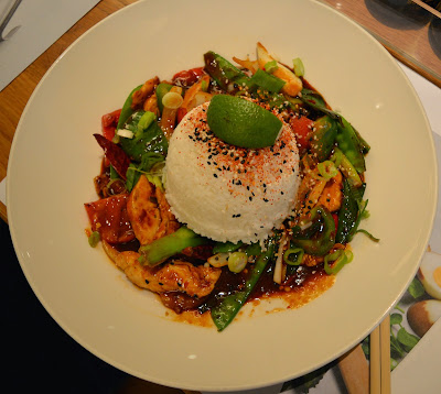 Firecracker chicken at wagamama