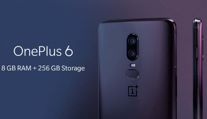 OnePlus 6 Midnight Black 8GB RAM, 256GB Storage Launched In India Release Date & price