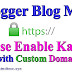 How to Enable HTTPS on Blogger Blog with Custom Domain {3 Simple Steps}