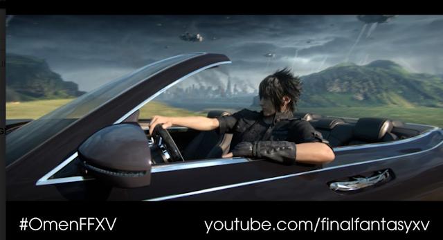 Final Fantasy XV estrena mañana mismo nuevo tráiler, Omen