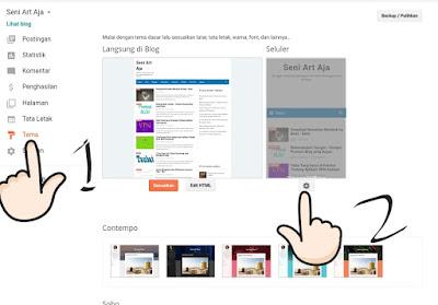 Cara Membuat Tampilan Blog Desktop  Sama Dengan Versi Android