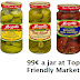 99¢ jars of Mezzetta® Peppers using $1/1 Coupon Print at Tops!