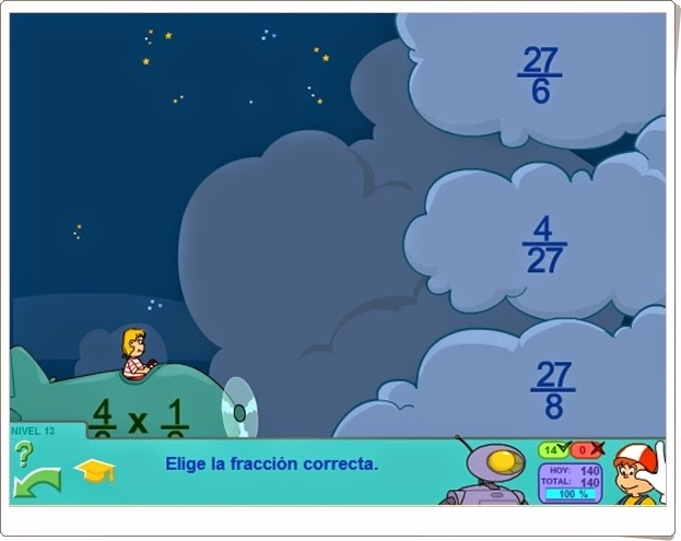 Juegos Educativos Online Gratis Multiplicacion De Fracciones Con Pipo
