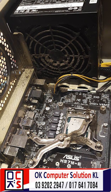 [SOLVED] SERVICE CLEAN DUST ASUS DESKTOP PC | REPAIR LAPTOP CHERAS 4