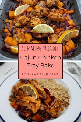 Cajun Chicken Tray Bake recipe
