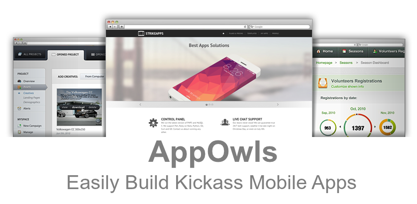 AppOwls - Easily Build Kickass Mobile Apps [GIVEAWAY]