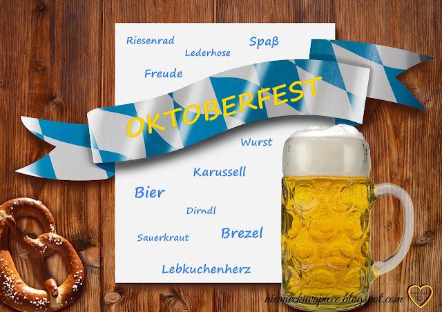 Niemiecki w opiece - Największy festyn ludowy na świecie, Najważniejsze słownictwo związane z Oktoberfest