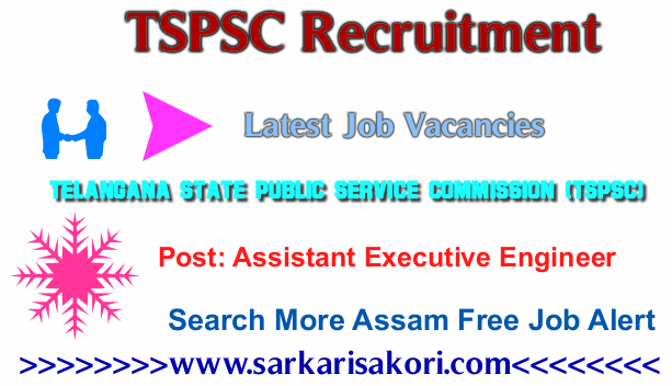 TSPSC Recruitment 2017 Assistant Executive Engineer