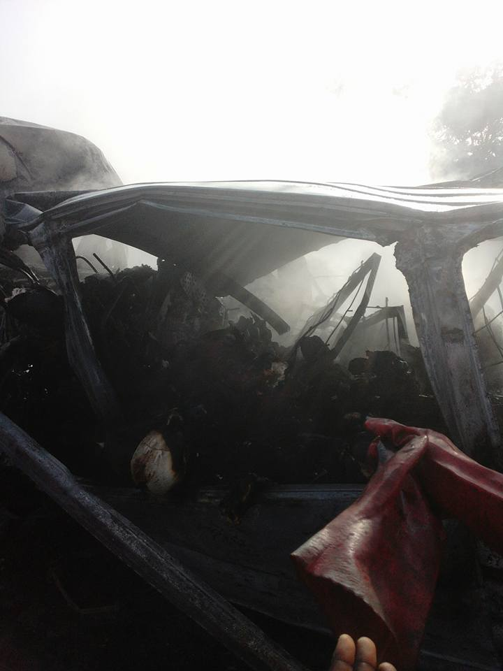 36 Feared Dead In A Ghastly Motor Accident Along Lagos-Ibadan Expressway