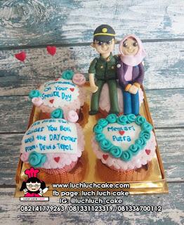 Cupcake Tema Polisi
