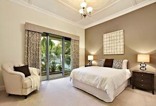 habitación color beige
