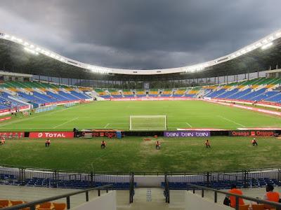 Stade d' Oyem, Gabon.