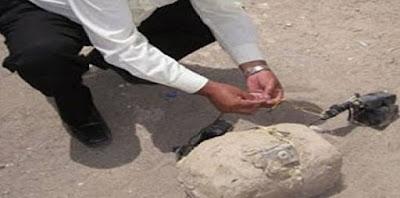 العثور علي 6 أجسام غريبة بقرية بني حميل بسوهاج
