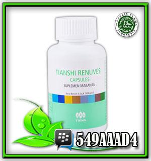 renuves tianshi, obat anti-oksidan, obat insomnia, mencegah kanker, memperkuat pembuluh organ dalam