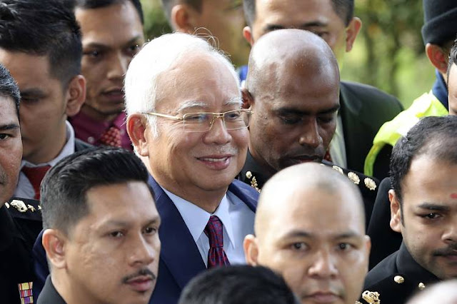 Najib Razak Bebas dengan Jaminan 1 Juta Ringgit