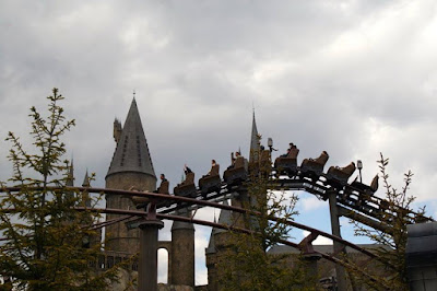 The Flights of the Hippogriff Ride at USJ