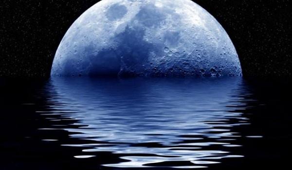 Gambar Bulan Biru