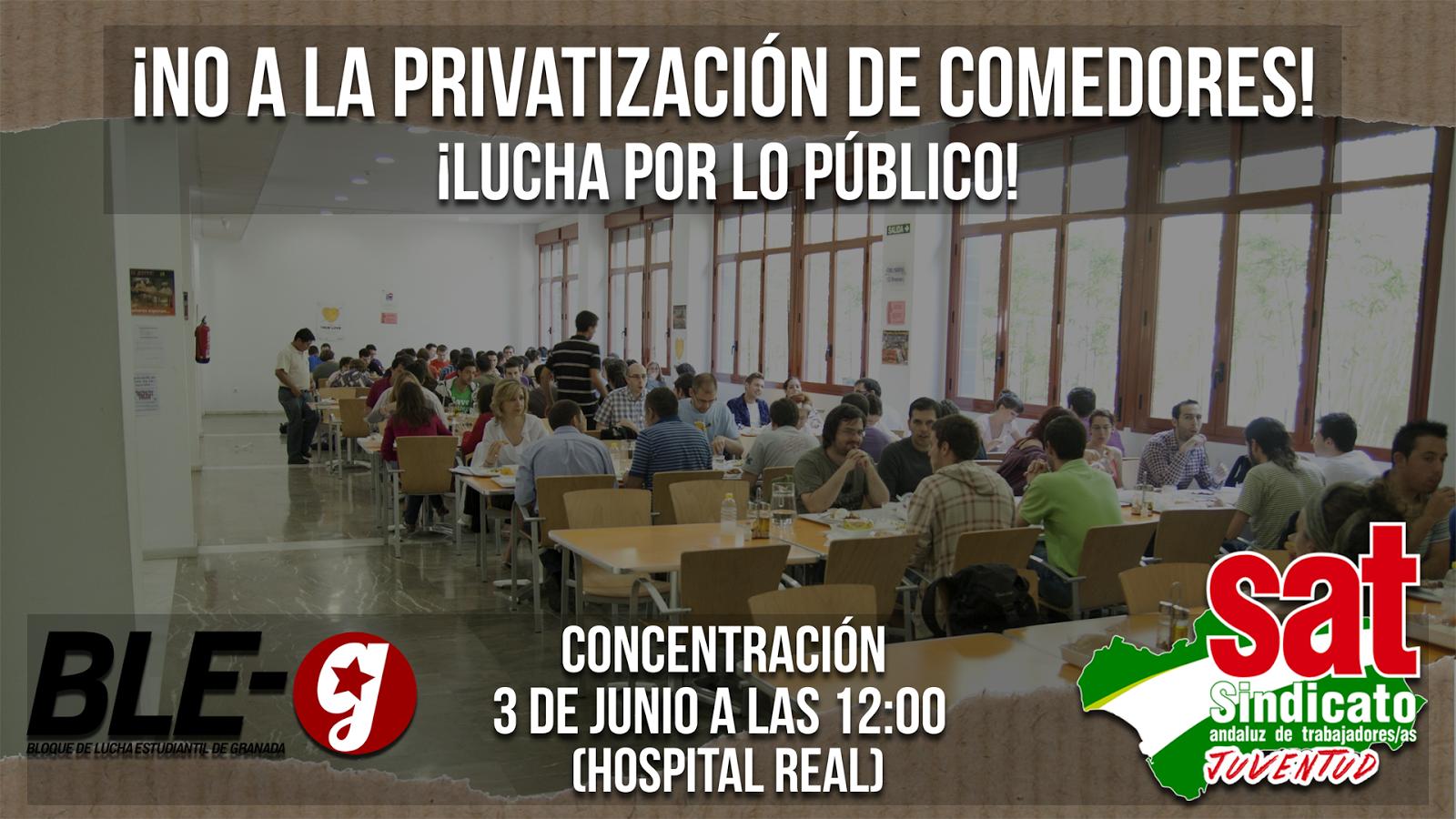 Frente de Estudiantes Granada: CONCENTRACIÓN - ¡NO A LA ...