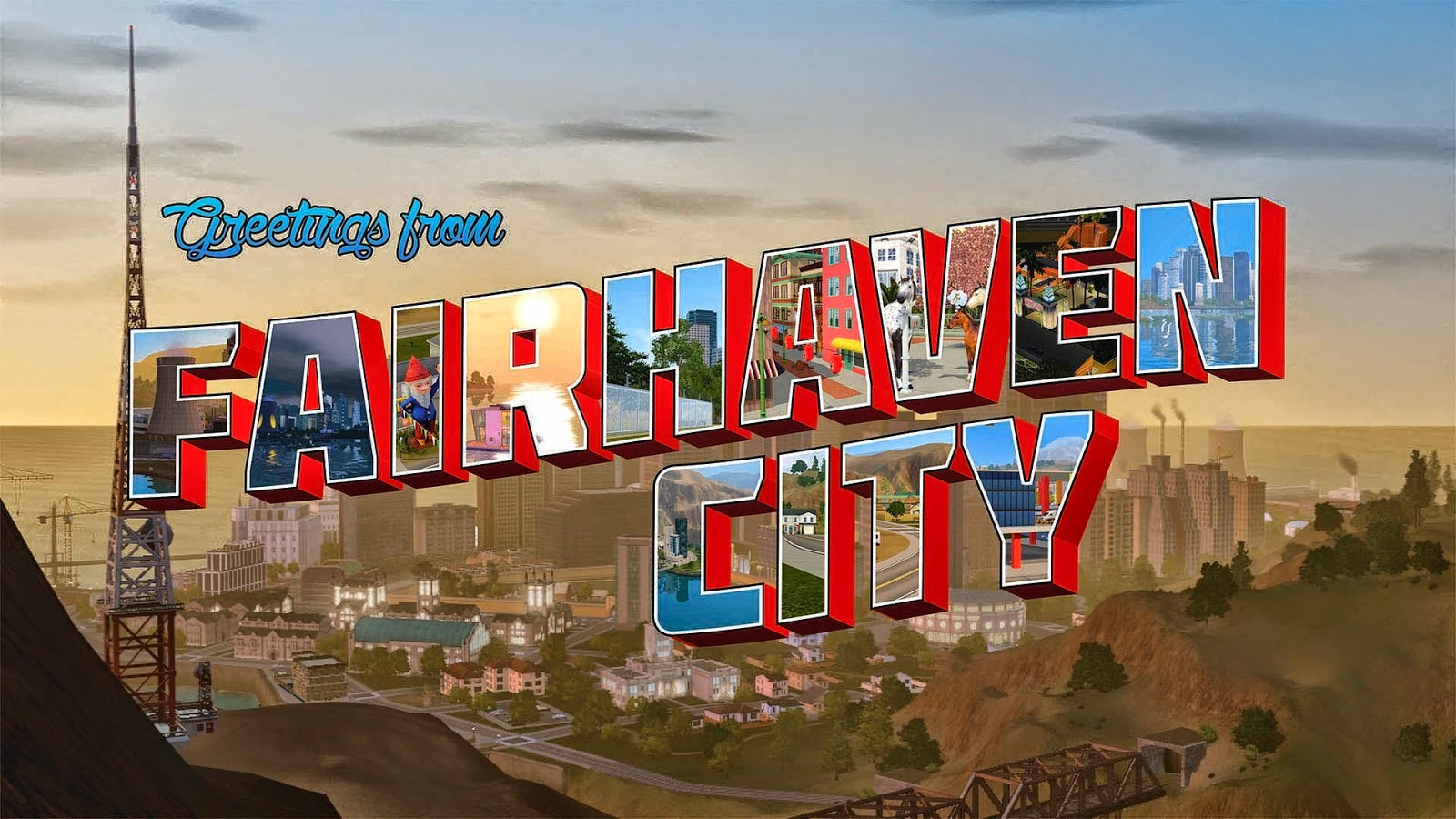 My Sims 3 Blog Fairhaven City By Monsoon