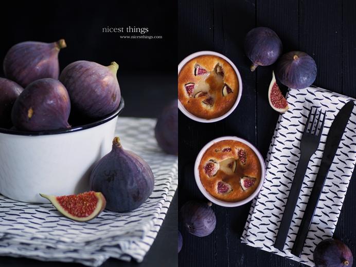 Feigen Dessert Feigen Souflé