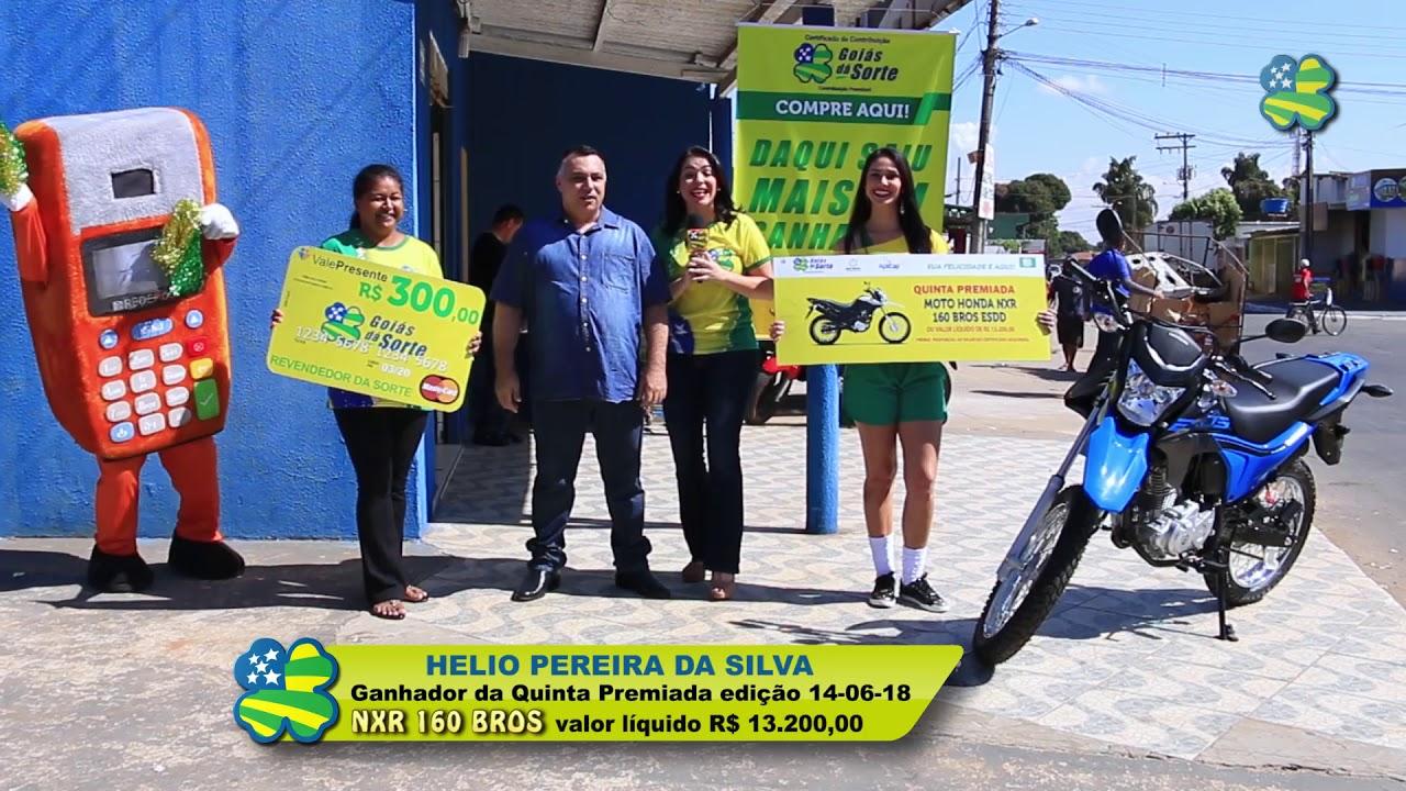 Ganhador do Goiás dá Sorte