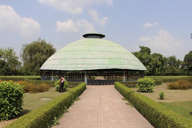 Buddha Relic Stupa , Vaishali , Bihar India