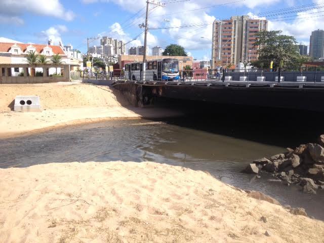 Embasa informa que estação de tratamento do Lucaia volta a bombear para o emissário submarino do Rio Vermelho