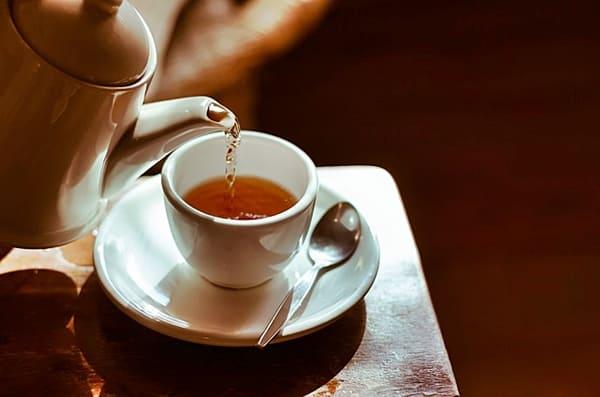 Chá de folhas de amora. chás emagrecedores para perder barriga