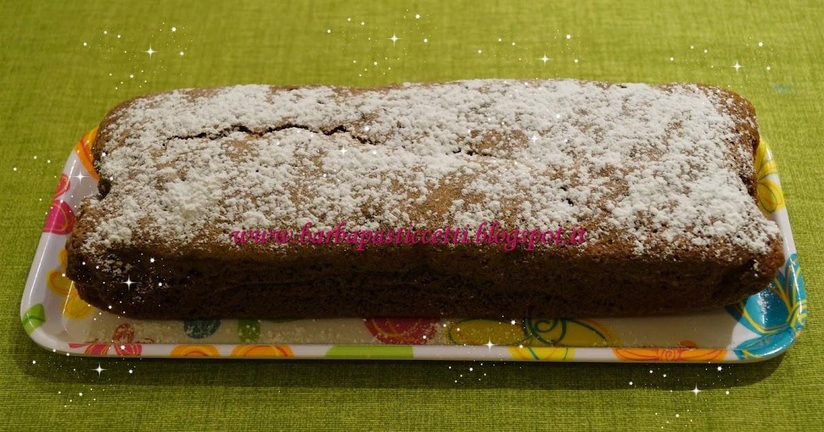 Plumcake al cacao con gocce di cioccolato per mia suocera!