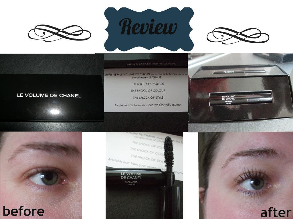 christina 39 s way chanel le volume de chanel mascara review. Black Bedroom Furniture Sets. Home Design Ideas