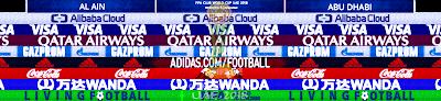 PES 6 Adboards FIFA Club World Cup UAE 2018 by Alex Jovis